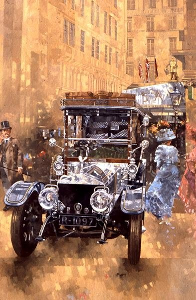 Silver Grace at the Savoy, 1999 (oil on canvas) Wall Art & Canvas Prints by Peter Miller