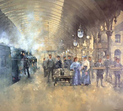 York Railway Station Poster Art Print by Peter Miller