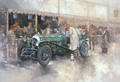 Bentley Old No.7 Fine Art Print by Peter Miller