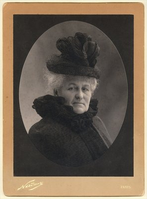 Alice Monet Fine Art Print by Nadar