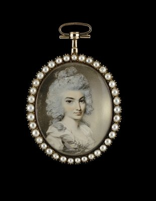 Portrait of a Lady, late 1780s Fine Art Print by George Engleheart