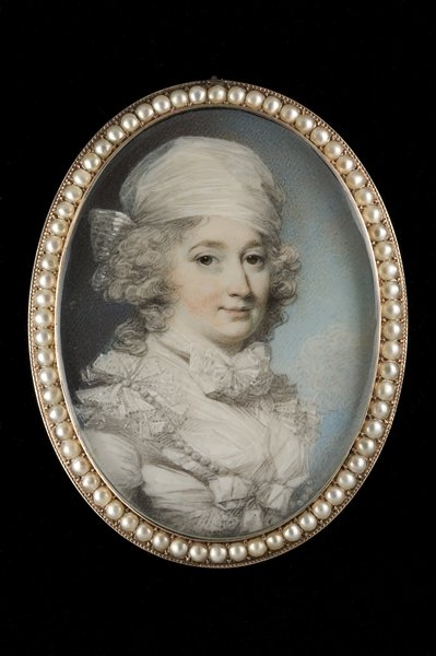 Portrait of a Lady Fine Art Print by George Engleheart