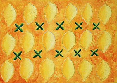 Lemons, 2004 Fine Art Print by Julie Nicholls