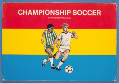 Championship Soccer Game Box Fine Art Print by European School