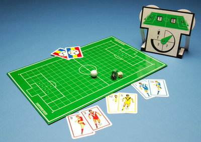 Championship Soccer board game Wall Art & Canvas Prints by European