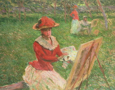 Blanche Hoschede Fine Art Print by Claude Monet