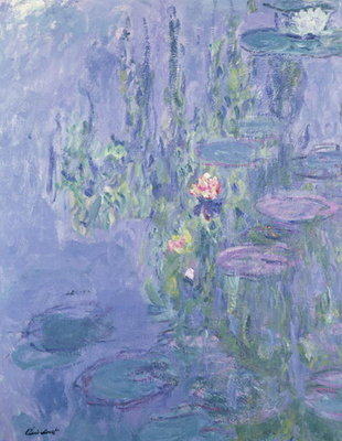 Waterlilies, 1907 Poster Art Print by Claude Monet