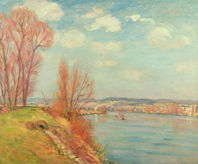 The Bay and the River, 1901 Fine Art Print by Jean Baptiste Armand Guillaumin