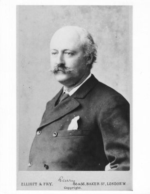 Portrait of Sir Hubert Parry Wall Art & Canvas Prints by Elliott & Fry Studio