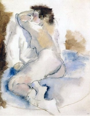 Germaine, 1929 Fine Art Print by Jules Pascin