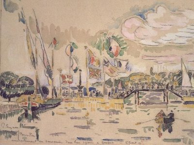 Geneva, c.1919 Fine Art Print by Paul Signac