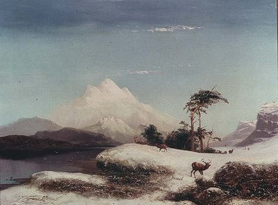 Scottish Highlands, 1873 Fine Art Print by Clarence Roe