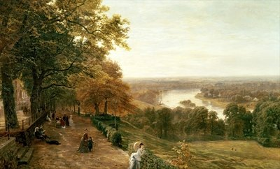Richmond Hill, London Poster Art Print by George Vicat Cole