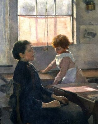 School is Out, 1889 Wall Art & Canvas Prints by Elizabeth Adela Stanhope Forbes