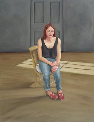 Joy Seated, 1996-2005 Fine Art Print by Peter Breeden