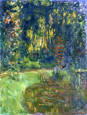 Garden of Giverny, 1923 Fine Art Print by Claude Monet