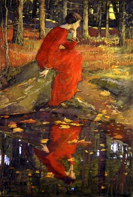 The Leaf Wall Art & Canvas Prints by Elizabeth Adela Stanhope Forbes