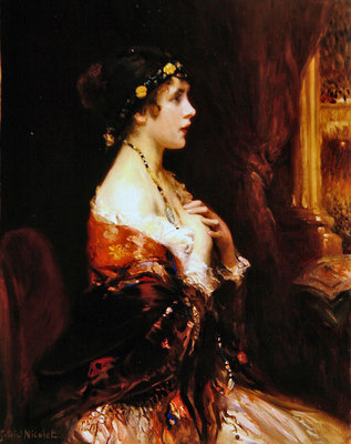 At the Opera Fine Art Print by Gabriel Nicolet