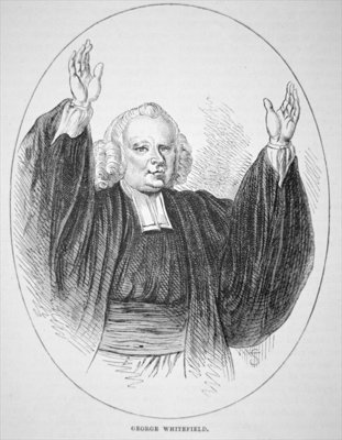 George Whitefield Poster Art Print by American School