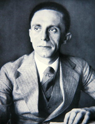 Portrait of Josef Goebbels, 1933 Fine Art Print by German Photographer