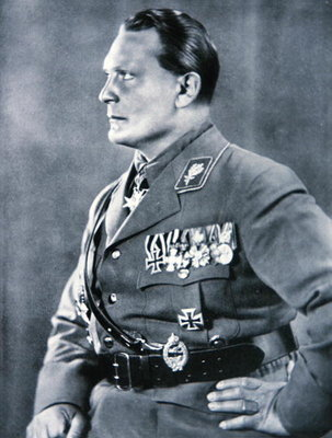 Hermann Goering, Chief of the German Luftwaffe Fine Art Print by German Photographer