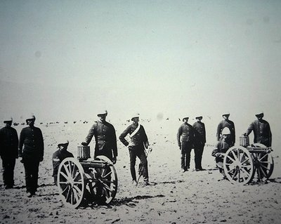 Gatling Guns of the Royal Artillery Poster Art Print by English Photographer