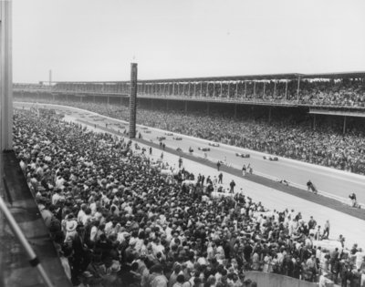 The Indianapolis 500 Mile Race, 1968 Fine Art Print by American Photographer