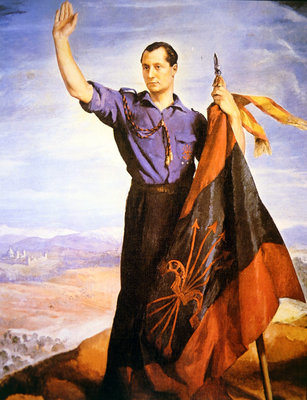 Jose Antonio Primo de Rivera Fine Art Print by Spanish School