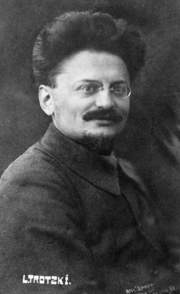 Leon Trotsky Fine Art Print by Russian Photographer