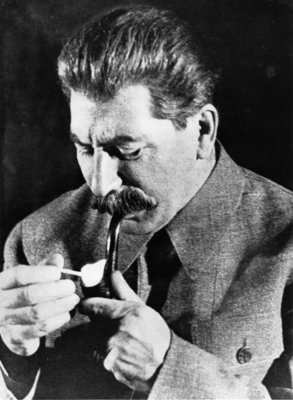 Joseph Stalin Fine Art Print by Russian Photographer