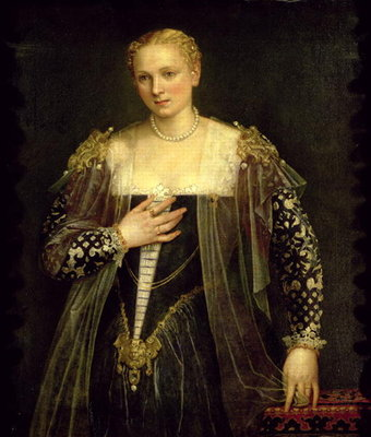 The Beautiful Nani Fine Art Print by Veronese