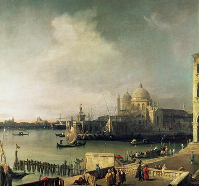 View of Venice Fine Art Print by Giovanni Antonio Canaletto