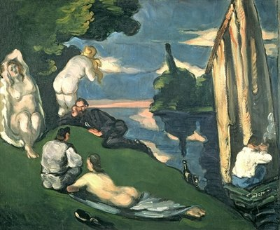 Pastoral, or Idyll, 1870 Fine Art Print by Paul Cezanne