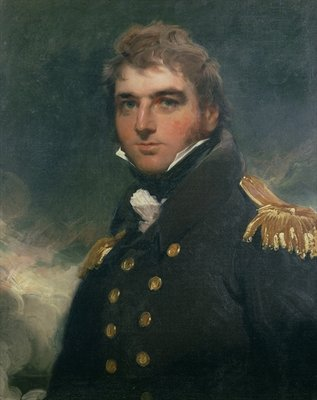 Portrait of Admiral Sir Charles Paget Fine Art Print by Sir Thomas Lawrence