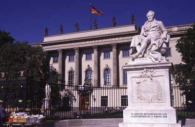 Humboldt University, Mitte Wall Art & Canvas Prints by Anonymous