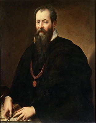 Self Portrait, 1566-68 Postcards, Greetings Cards, Art Prints, Canvas, Framed Pictures, T-shirts & Wall Art by Giorgio Vasari
