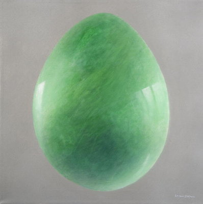 Big Jade Egg Fine Art Print by Lincoln Seligman