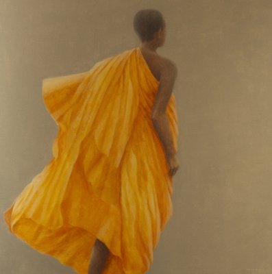 Young Monk Sri Lanka, 2010 Poster Art Print by Lincoln Seligman