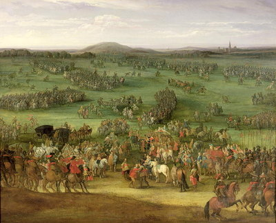The Battle of Nordlingen II, c.1634 Fine Art Print by Pieter Meulener