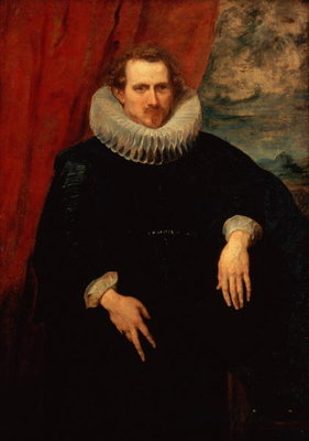 Portrait of a Man Fine Art Print by Sir Anthony van Dyck
