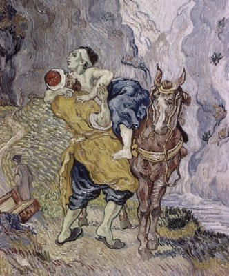 The Good Samaritan, 1890 Fine Art Print by Vincent van Gogh