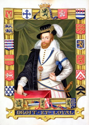 Portrait of Robert Dudley Fine Art Print by Sarah Countess of Essex