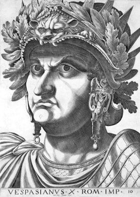 Vespasian Fine Art Print by Italian School