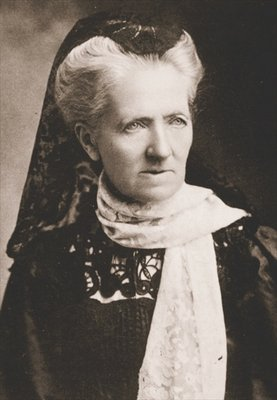 Charlotte Despard, Joint Honorary Secretary of the WSPU Fine Art Print by English Photographer
