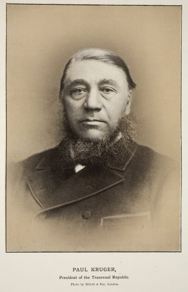 Paul Kruger, President of the Transvaal Republic Wall Art & Canvas Prints by Elliott & Fry Studio