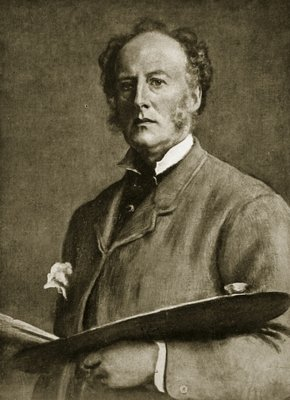 John Everett Millais, 1829-96 Fine Art Print by Sir John Everett Millais