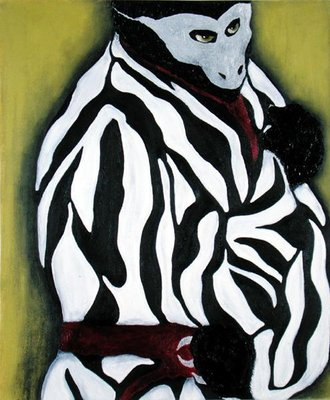 His Disguise (oil on canvas) Wall Art & Canvas Prints by Stevie Taylor