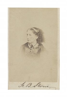 Harriet Beecher Stowe Fine Art Print by R. S. DeLamater