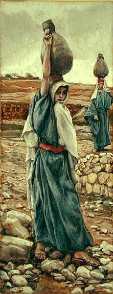 The Holy Virgin in Her Youth, illustration for 'The Life of Christ', c.1886-94 (gouache on paperboard) Wall Art & Canvas Prints by James Jacques Joseph Tissot