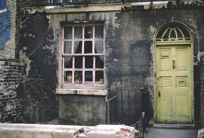 House with a Green Door, Euston, London, 1967 Fine Art Print by Terrence Nunn